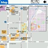 Las Vegas DK Eyewitness Top 10 Travel Guide & Map (Palm OS)