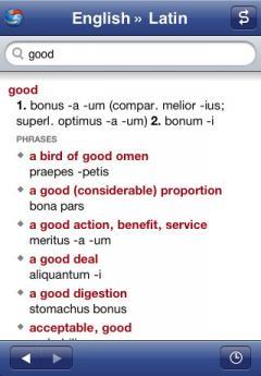 Latin-English Translation Dictionary