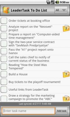LeaderTask ToDo List