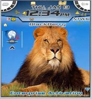 Lion Theme for Blackberry 7100