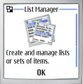 Listango ListManager (BlackBerry)