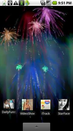 Live Wallpaper Fireworks Free