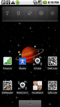 Live Wallpaper Saturn