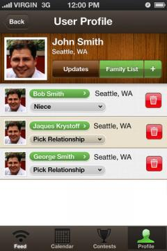 LiveFamily for iPhone