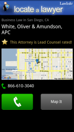 Locate a Lawyer
