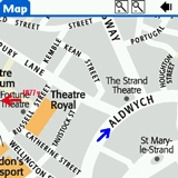 London DK Eyewitness Top 10 Travel Guide & Map (Palm OS)