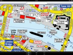 London Visitors A-Z for iPad