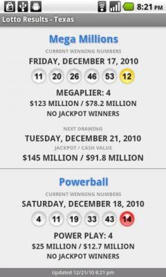 Lotto Results Premium for Android