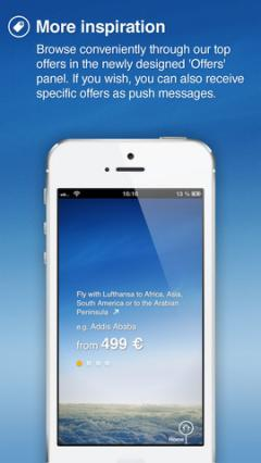 Lufthansa for iPhone