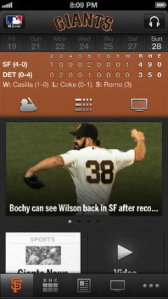 MLB.com At Bat for iPhone/iPad 7.2.