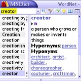 MSDict Advanced English Dictionary & Thesaurus (Palm OS)