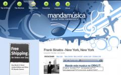 Manda Musica - Firefox Addon