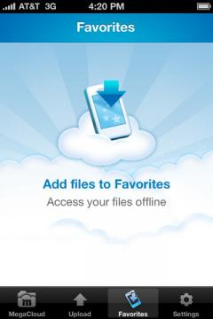 MegaCloud for iPhone/iPad