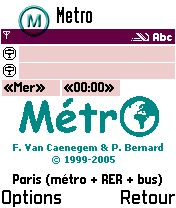 MetrO (S60 3rd Edition)