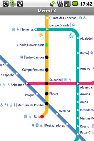 БЕСПЛАТНО! детальная карта карта метрополитена города Лиссабон.  Содержит схемы метро, карты маршрута между станциями...