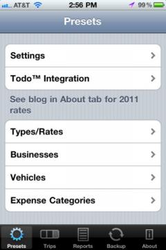 MileBug Lite for iPhone