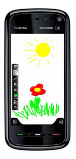 Mobile Paint Example