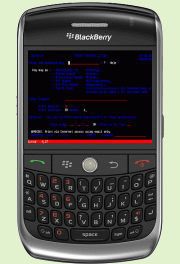 Mocha TN3270 (BlackBerry)