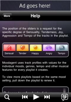 Moodagent FREE (iPhone)