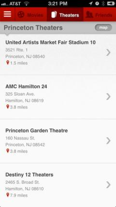 MoviePass for iPhone