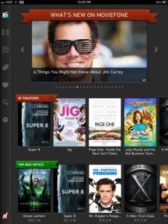Moviefone for iPad