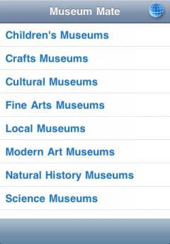 Museum Finder