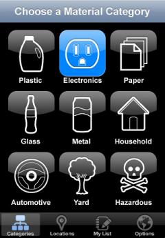 My Recycle List