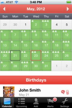 MyCalendar Mobile for iPhone/iPad