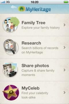 MyHeritage for iPhone/iPad