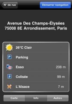 NAVIGON MobileNavigator France