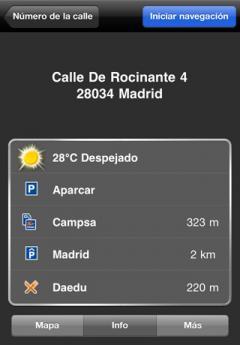 NAVIGON MobileNavigator Iberia