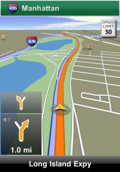 NAVIGON U.S. East for iPhone/iPad 2.