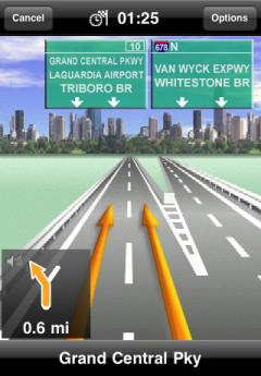 NAVIGON U.S. West for iPhone/iPad 2.