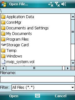 .NET CF File Dialogs