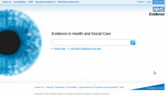 NHS Evidence - Firefox Addon