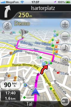 Navfree GPS Live Germany