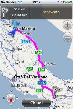 Navmii GPS Live Italy
