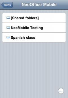 NeoOffice Mobile