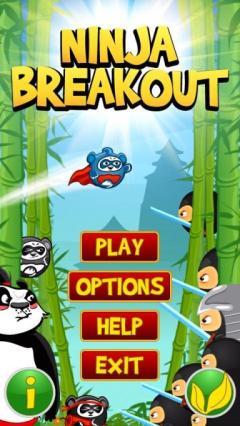 Ninja Breakout (Android)