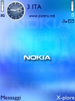 Nokia Blue Theme