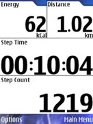 Nokia Step Counter
