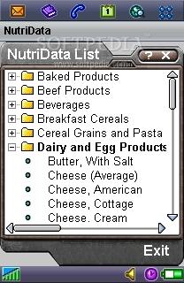 NutriData for P800/P900/P910