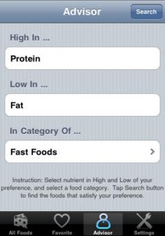 Nutrition Complete for iPhone/iPad