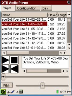 OTR MP3 Audio Player