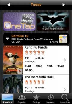 Movies by OneTap