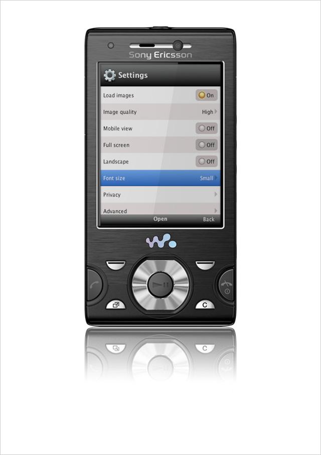 Opera Mini Android Sony Ericsson 12.5