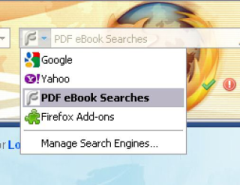 PDF eBook Searches - Firefox Addon