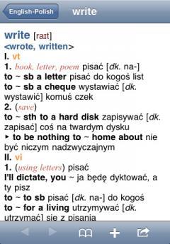 PONS Compact Dictionary Polish-English (iPhone/iPad)