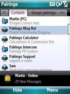 Palringo (Windows Mobile)