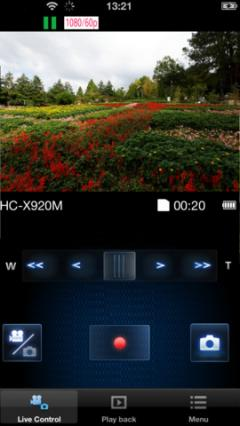 Panasonic Image App for iPhone/iPad
